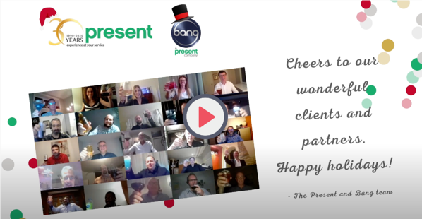 Happy holidays from Present 2020
