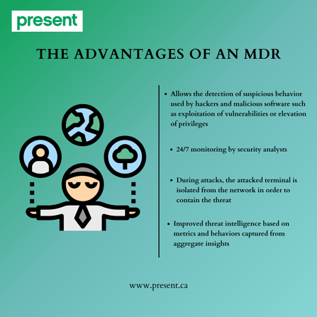 The advantages of an MDR