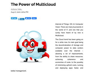 The Power of Multicloud