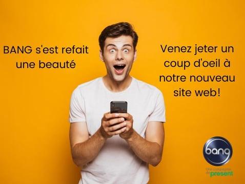 nouveau site web bang