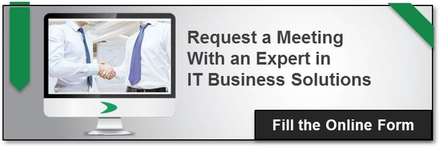 Request meeting with expert is IT business solutions