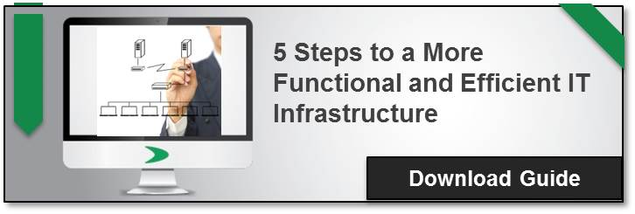 5 steps to a more functional and organised IT infrastructure | Ebook | CIOs / CTOs